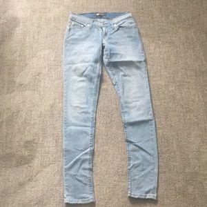Levi's 524 skinny jeans 26